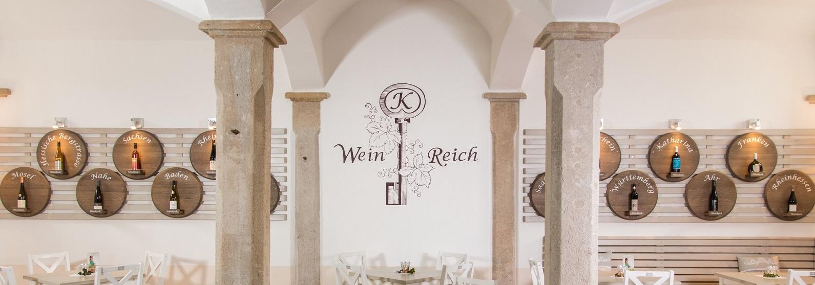 WeinReich ist die kleine Weinwirtschaft der 26.Sächsichen Weinkömigin Katharina Lai